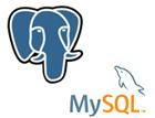 MySQL及びPostgreSQLに対応